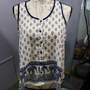 Truth button down blouse.